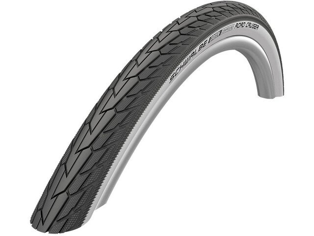 "SCHWALBE Road Cruiser Wired-on Tire 28"" K-Guard Active black/white"